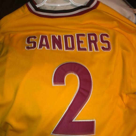 save off 3b2b4 7e523 Deion Sanders Baseball Fsu Jersey